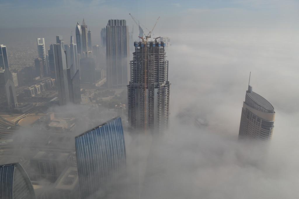 Burj Khalifa Apartment View